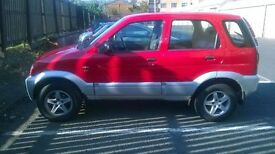 Kirkcaldy,Daihatsu Terios EL 2002,FULL LEATHER INT,MOTuntil 2/02/18,Good Condition,Very good price!!