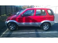 Kirkcaldy,Daihatsu Terios EL 2002,FULL LEATHER INT,one year MOT,Good Condition,Very good price!!
