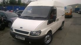 Ford transit engine £200 2000 to 2006 model