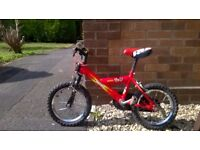 Small child's bike, suit 5/6 year old