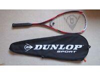 Dunlop Blackstorm Titanium Squash Racket. New