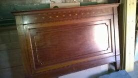 Edwardian Mahogany bed frame