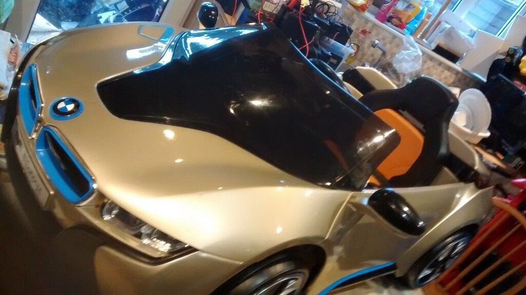 12 Volt Twin Speed Bmw I8 Electric Ride On In Gold In Coventry