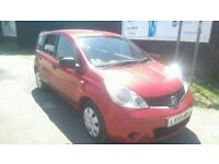 NISSAN NOTE VISIA 59 PLATE(2009)1.6-AUTOMATIC