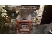 Blacksmiths Anvil from working garage £275