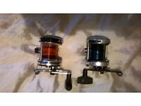 SEA FISHING MULTIPLIER REELS X 2