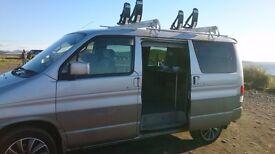 Mazda bongo tintop, side conversion, with karitek easyliader roofrack
