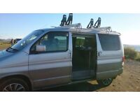 Mazda bongo tintop, side conversion, with karitek easyliader roofrack