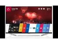 "47"" 1080p 3D led tv - lg lb730v with webos"