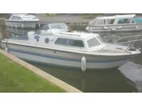 Norman 20 boat, mariner 20hp 2010 outboard