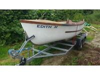 Small Fishing Boat & Trailer