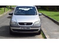 VAUXHALL ZAFIRA 1.6 16v Club /7 SEATER/ FAMILY CAR/ £845