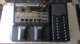 Roland GR-20 with GK-3 MIDI Pickup + Manuals