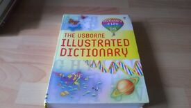 THE USBORNE ILLUSTRATED DICTIONARY FOR SALE