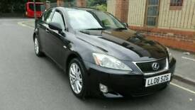 2008 Lexus i s 220 diesel excellent condition top spec model for leather interior