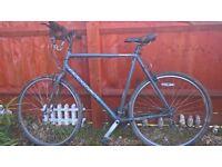 Gents ridgeback hybrid large frame city bike