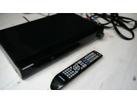Samsung DVD player Bluetooth USB port Divx Mpeg Avi etc Remote Control and Speaker