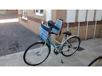 Bobike Classic Mini Front Bike Seat with Windscreen & Handlebar with support