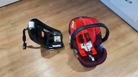 Cybex Aton 3 infant car seat & 2-Fix Isofix base
