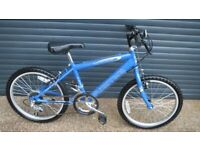 RIDGE BIKE STILL IN ALMOST NEW CONDITION HAVING HAD MINIMAL USE. (SUIT APPROX AGE. 7+)