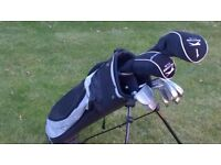 Slazenger Junior Golf Clubs Set & Bag
