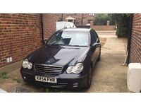 Mercedes C180 Avantgarde, Petrol, 1.8L, Saloon, Semi-Automatic, 2004. Doctor owner.
