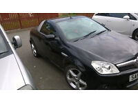 vauxhall tigra convertible petrol1.4 electric roof leather seats