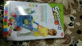 Baby/kids/toddler shopping cart/trolley