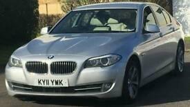 BMW 520d 2011 cream interior Sat Nav MOT Superb Condition