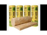 Loft insulation 10 rolls only £90