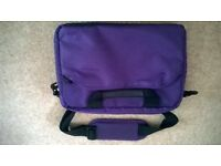 new purple laptop bag