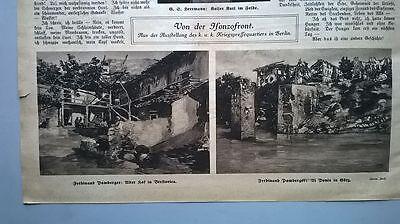 1917 92 Al Ponte Görz Brestovica Brestovica Slowenien