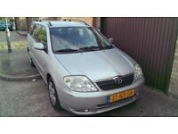 2004 TOYOTA COROLLA LHD LEFT HAND DIVE DRIVES WELL
