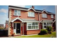 3bed semi for rent in wentworthgreen portadown