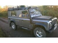 2003 Defender 110 Metallic silver