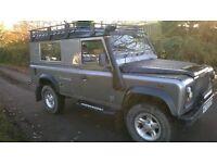 2003 Defender 110 Metallic silver