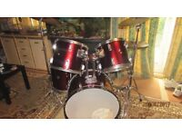 1970'sPearl drumkit with Premier Artist Made in England