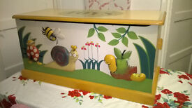 Bespoke Had Painted Toy Chest