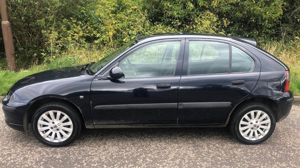 Cheap Low Miles Rover 25 Impression 5 Door 14l 2004 Year Mot In