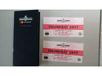 Goodwood Festival of Speed 2 x Tickets for Thursday 29th June 2017