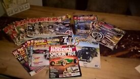 large selection of custom magazine £30