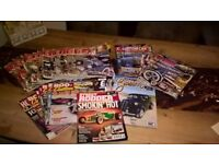 large selection of custom magazine £30