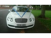 Bentley Chauffeur Wedding Car Hire and Special Occasions at Reasonable Prices!