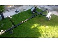 BOAT TRAILER -ADJUSTABLE -up to  22ft aprox.