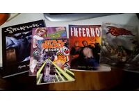 Job lot of miscellaneous graphic novel/comic titles
