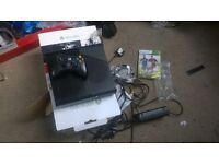 console x box 360 as new