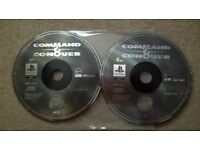 Command & Conquer Playstation One game - RARE