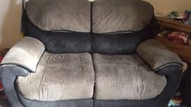 2 large recliner sofas