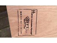 Hanson SP101 plywood 6mm great underlay for vinyl flooring etc.