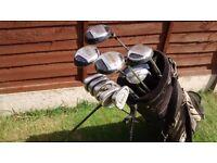 Set of Golf Clubs + Bag | £35